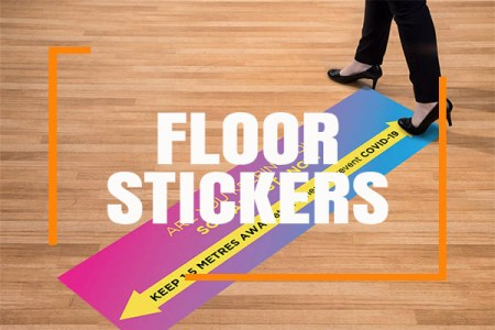 Healthcare Floor Stickers 450x450