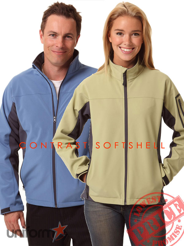 Contrast Softshell Jacket