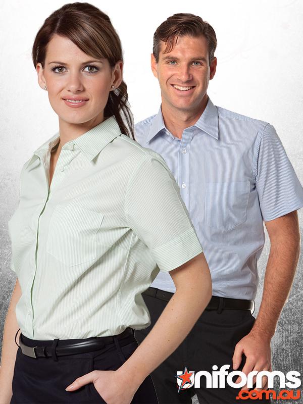 Benchmark Balance Stripe S/S Shirt