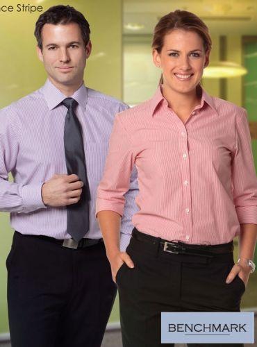 Ladies 3qtr Balance Stripe Shirt