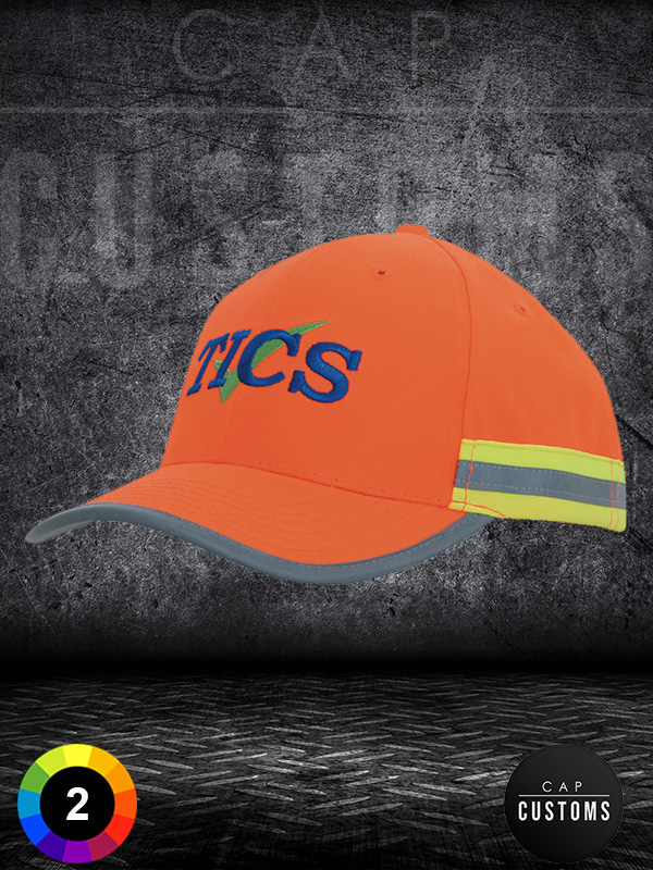 3030 Hi Vis Cap With Reflective Tape  1587700705 605