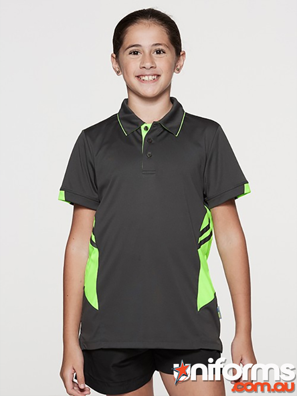 3311 Tasman Kids Polo Aussie Pacific Sportwear Uniforms  1563776145 604