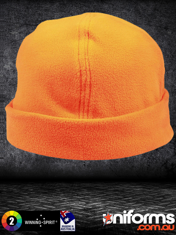 CH27 Polar Fleece Beanie Hivis Safety  1589243679 291