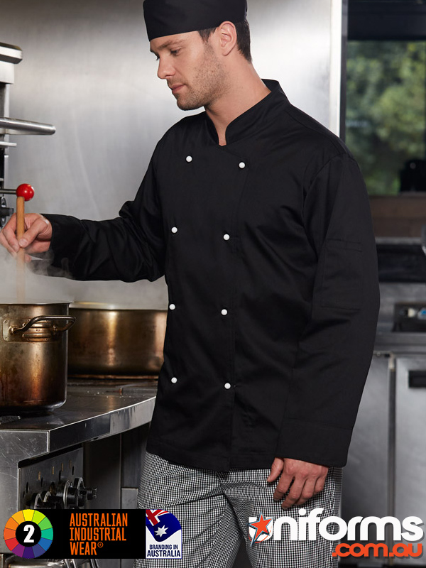 CJ01 CHEF S LONG SLEEVE JACKET  1589513746 595