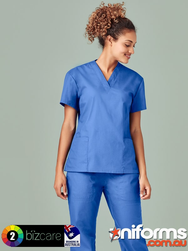 H10622 Ladies Classic Scrubs Top 2  1589769580 401