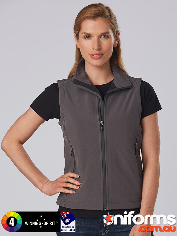 JK26 Ladies  Softshell Hi Tech Vest  1589959610 925
