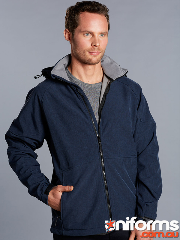 JK33 ASPEN Softshell Hood Jacket Mens  1556677615 884