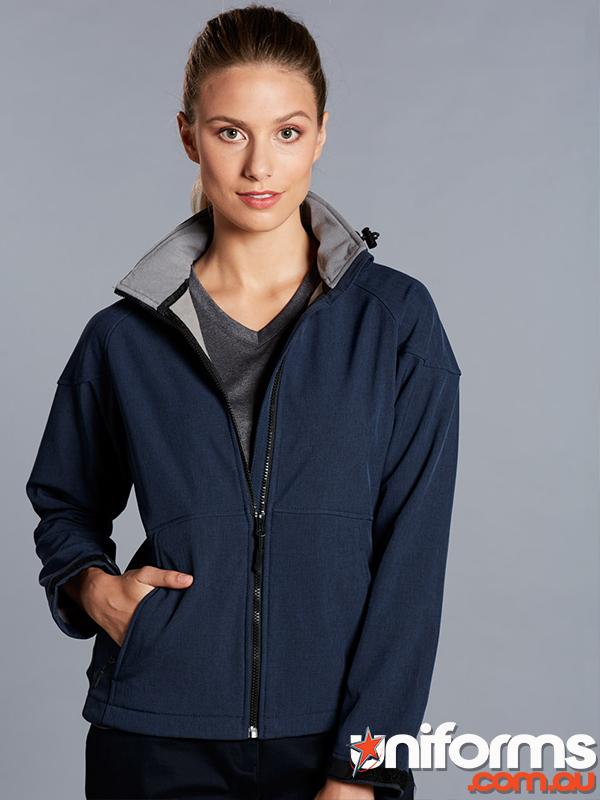 JK34 ASPEN Softshell Hood Jacket Ladies  1556677760 698