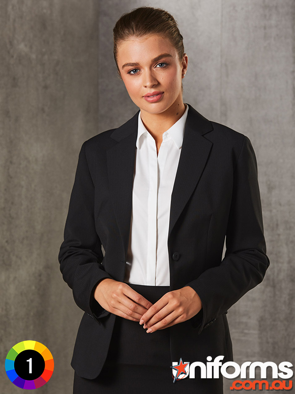 M9208_Womens_PolyViscose_Stretch_Stripe_One_Button_Cropped_Jacket__1580873685_441