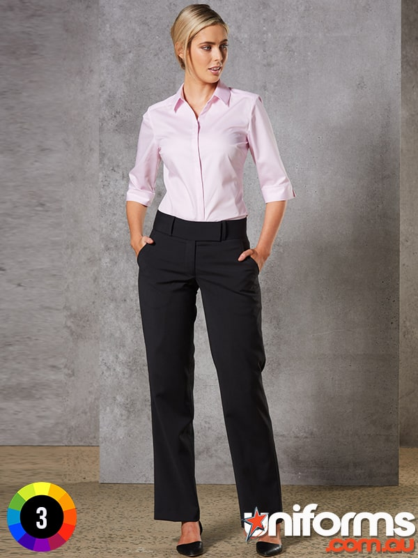 M9410 Womens Wool Blend Stretch Low Rise Pant  1580864319 341