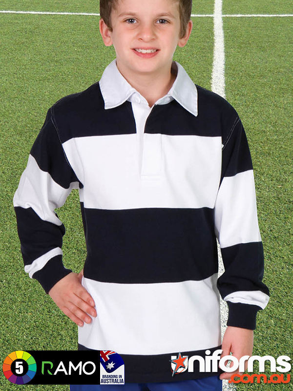 P100KS Kids Rugby Jumper  1589509417 383