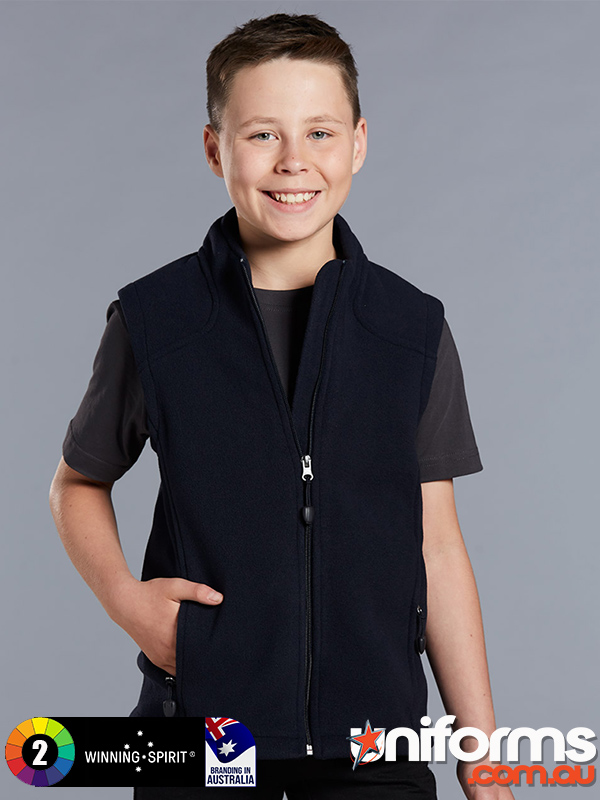 PF09K Diamond Fleece Vest  1589956835 341