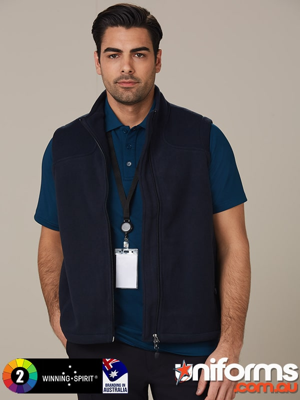PF09 Diamond Fleece Vest Men  1589957469 286