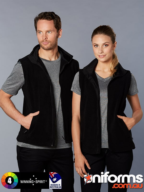 PF22 BROMLEY POLAR FLEECE VEST UNISEX  1589954506 212