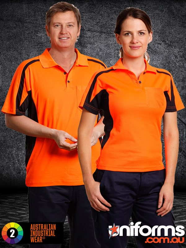 SW25 HI VIS FASHION POLO Unisex  1588994674 9