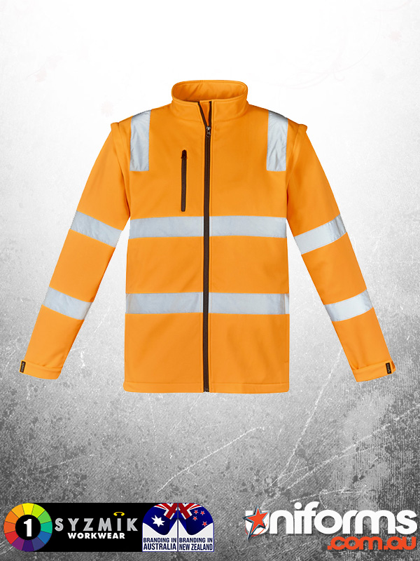 ZJ780 Unisex Hi Vis Vic Rail 2 In 1 Softshell Jacket 1  1605841968 624