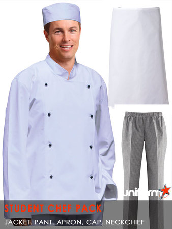 Student Chef Uniform Pack 175x250