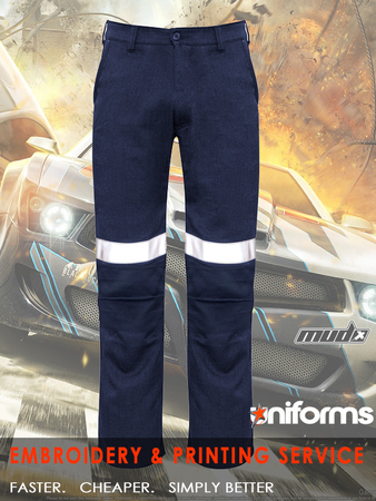 Fire Armour Traditional Style Taped Work Pant