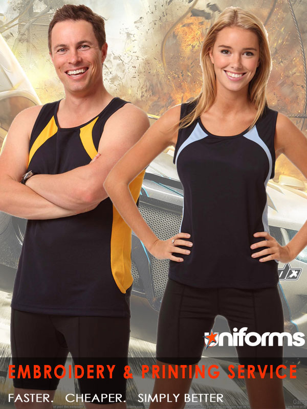ts73 AirWear Athletic Singlet uniforms