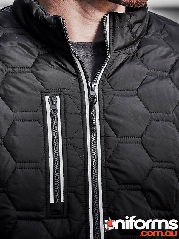 ZJ420 Hexagonal Puffer Jacket